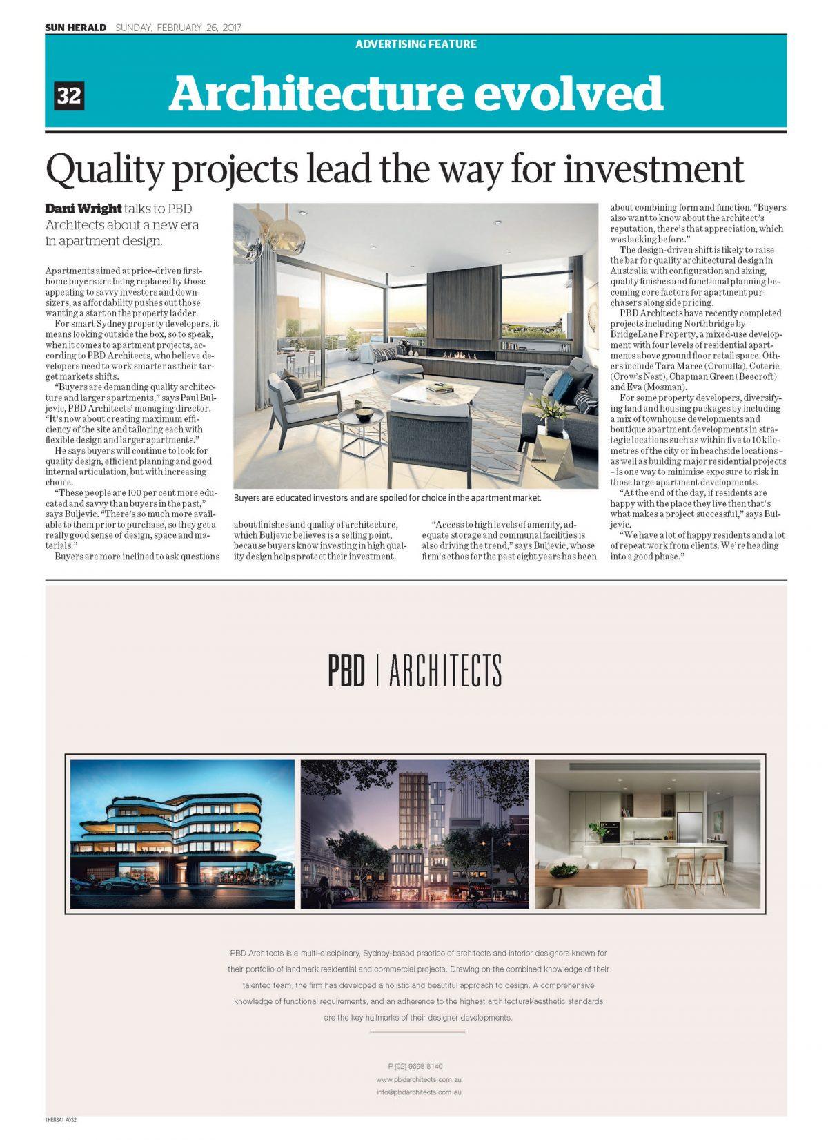 Architecture Evolved – SMH