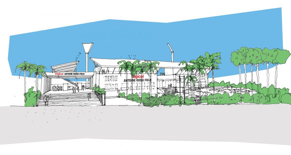 Sports and Recreation Vanuatu Football Field